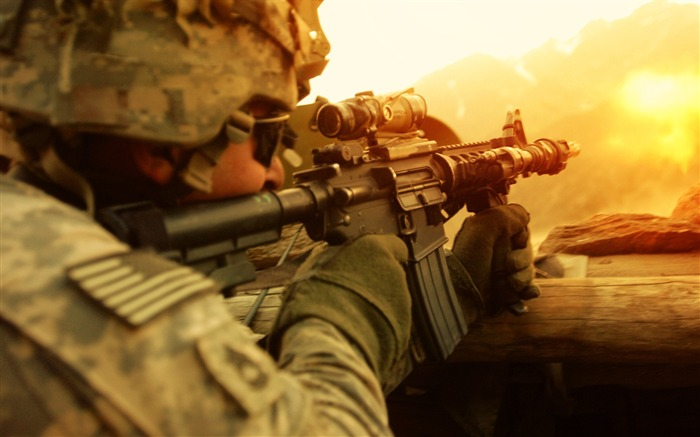 US Army Soldier-Military HD Wallpapers Views:2392