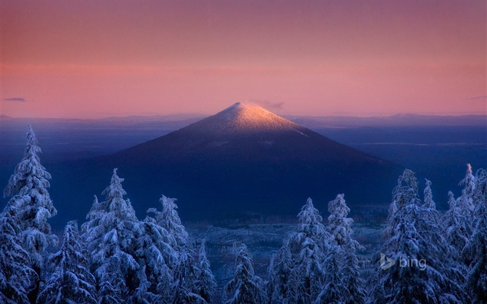 Winter Mount Fuji-Bing theme wallpaper Views:2846