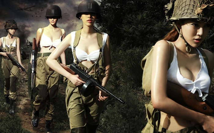 Women Soldiers-Military HD Wallpapers Views:3780