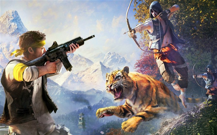 far cry 4 weapons-Games HD Wallpaper Views:2861