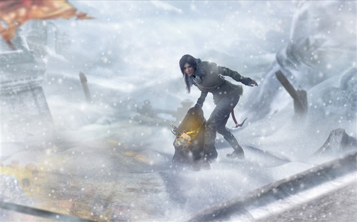 Rise of the Tomb Raider 2015 HD Game Wallpaper 11 Views:3888