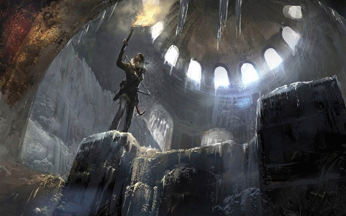 Rise of the Tomb Raider 2015 HD Game Wallpaper 13 Views:3208