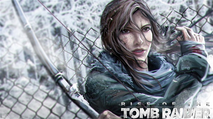 Rise of the Tomb Raider 2015 HD Game Wallpaper Views:3820