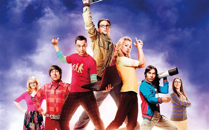 The Big Bang Theory TV Series HD Wallpaper Views:4683