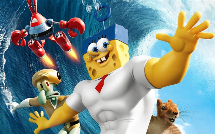 The SpongeBob Movie-Sponge Out of Water HD Wallpaper Views:5851