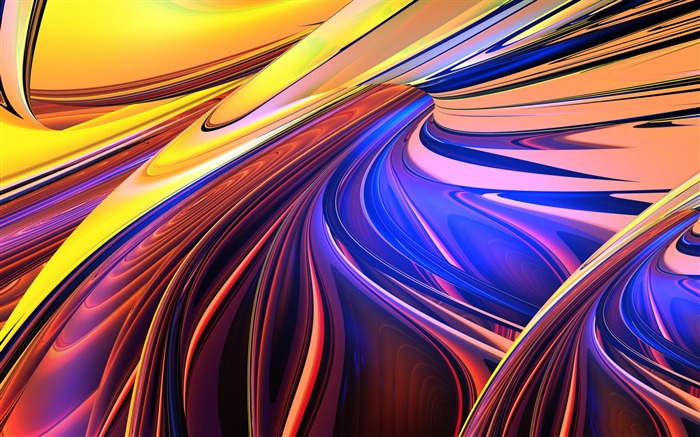 abstract composition-Design HD Wallpaper 02 Views:2502