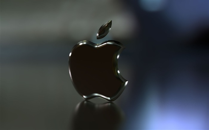 Apple black logo-Advertising HD Wallpaper Views:3088