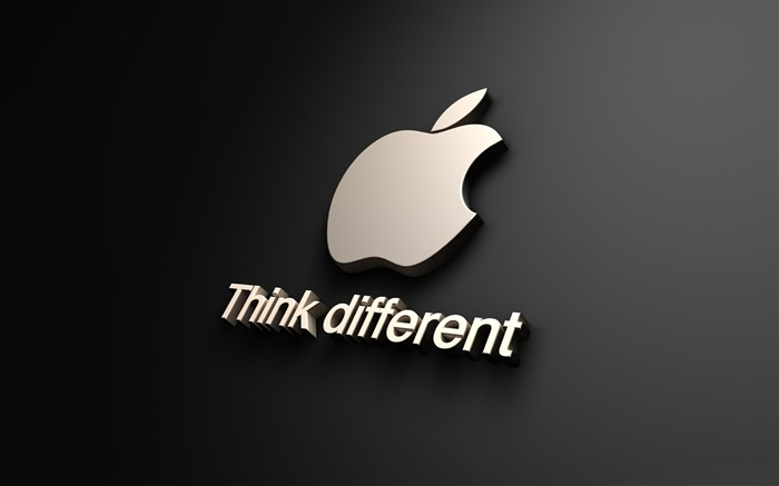 Apple think different-Advertising HD Wallpaper Views:3629