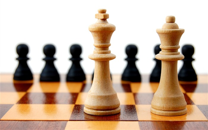 Chess Theme HD widescreen wallpaper Views:5286