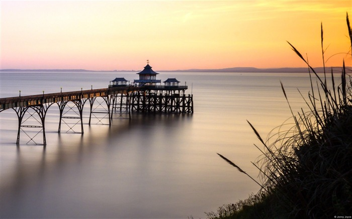 Clevedon Pier Somerset-Windows 10 HD Wallpaper Views:4157