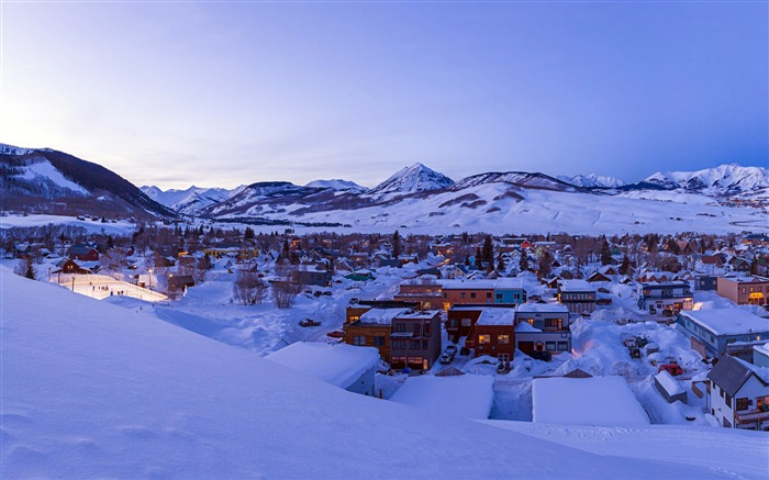 Crested Butte-Windows 10 HD Wallpapers Views:4914