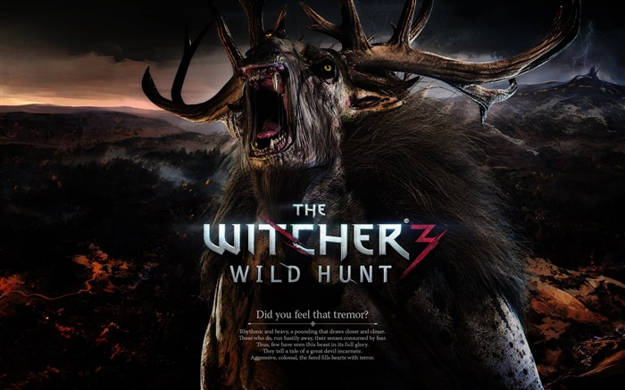 THE WITCHER 3 WILD HUNT Game HD Wallpaper 02 Views:2956