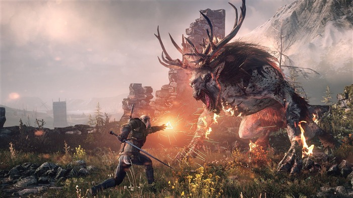 THE WITCHER 3 WILD HUNT Game HD Wallpaper 06 Views:2769