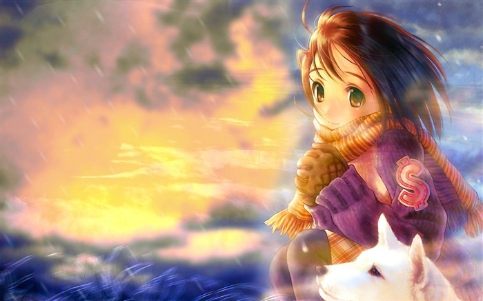 girl and black prince-Cartoon HD wallpaper Views:2133