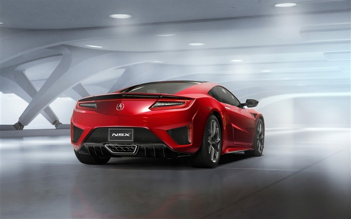 Acura nsx static-HD Widescreen Wallpaper Views:2386