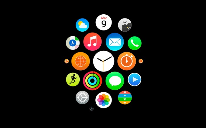 Apple Watch Theme HD Desktop Wallpaper 24 Views:1292