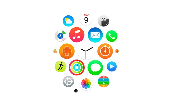 Apple Watch Theme HD Desktop Wallpaper 25 Views:1296