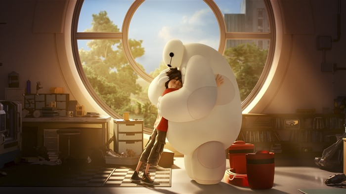 Big Hero 6 Anime HD desktop wallpaper Views:8697