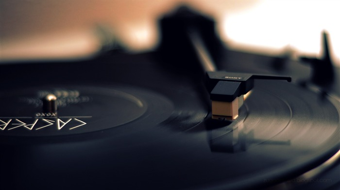 Vinyl Records Theme HD Desktop Wallpaper Views:13558