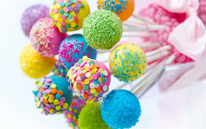 colored candies-High Quality HD Wallpaper Views:5510