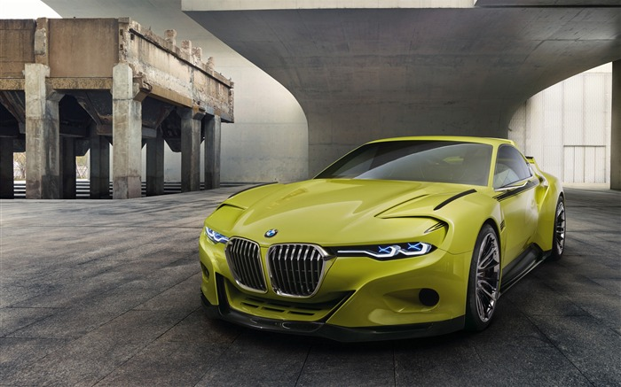 2015 BMW 30 CSL Hommage Auto HD Wallpaper Views:5751