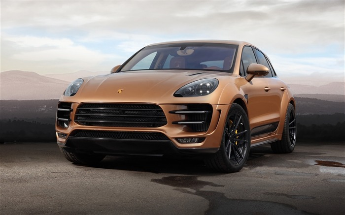 2015 Porsche Macan URSA Aurum Car HD Wallpaper Views:5654