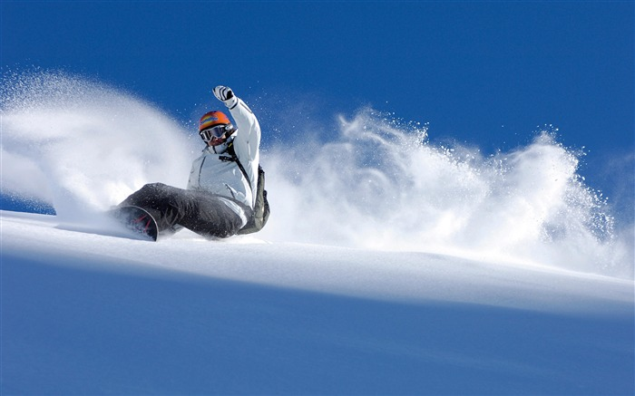 Amazing snowboarding extreme sports wallpaper 03 Views:2582