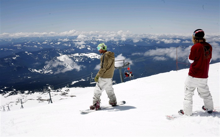 Amazing snowboarding extreme sports wallpaper 05 Views:2510