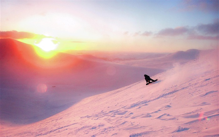 Amazing snowboarding extreme sports wallpaper 06 Views:2410