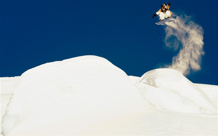 Amazing snowboarding extreme sports wallpaper 07 Views:2586