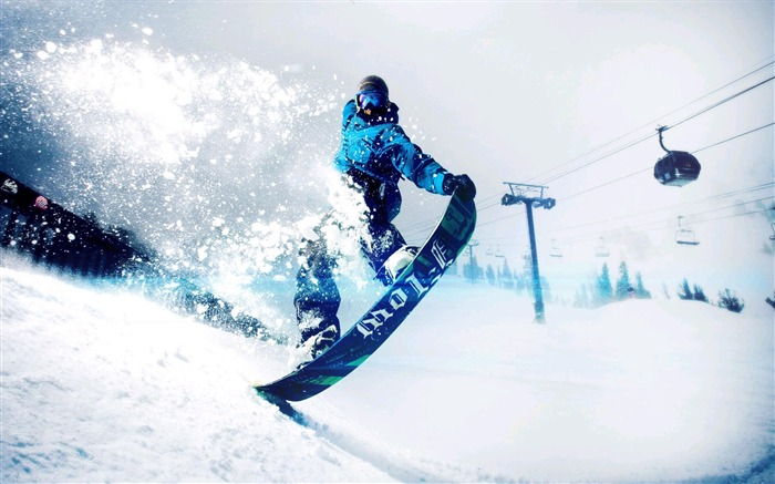 Amazing snowboarding extreme sports wallpaper 10 Views:2455