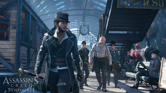 Assassins Creed Syndicate 2015 HD Game Wallpaper 07 Views:1613