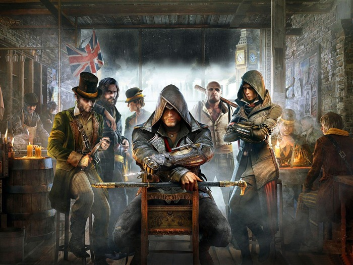Assassins Creed Syndicate 2015 HD Game Wallpaper 10 Views:2247