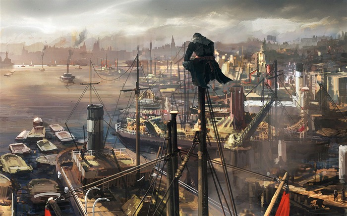 Assassins Creed Syndicate 2015 HD Game Wallpaper 16 Views:1100