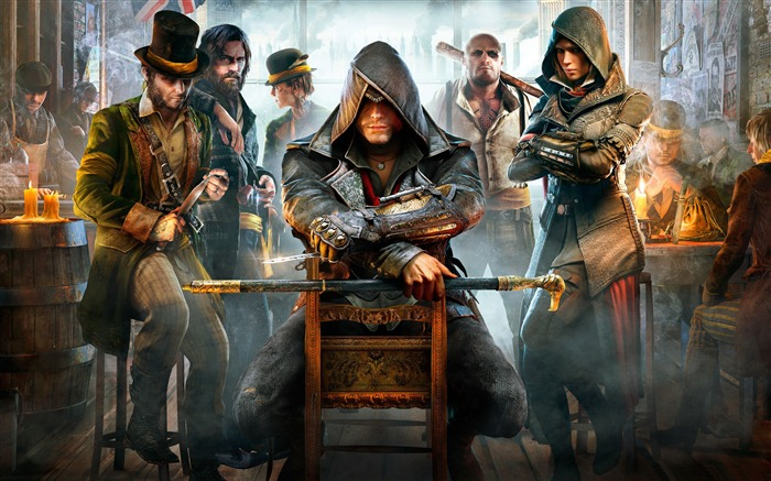 Assassins Creed Syndicate 2015 HD Game Wallpaper Views:7084