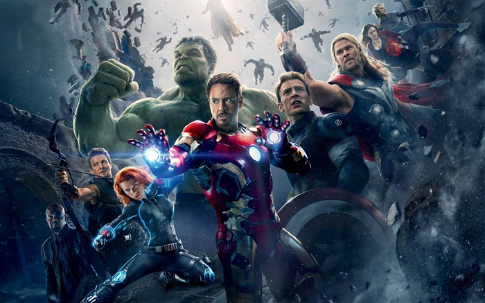 Avengers Age of Ultron 2015 Movie HD Wallpaper Views:7880