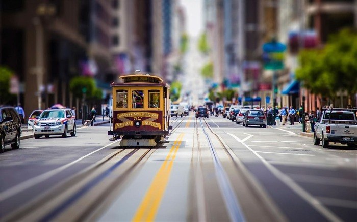 Title:san francisco vintage tram-photography HD wallpaper Views:2680