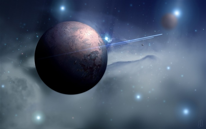 space planet moon-High Quality HD Wallpapers Views:1096