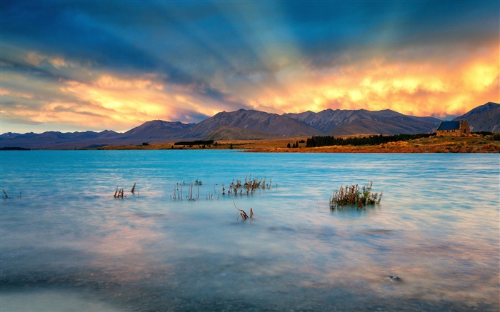Most Beautiful New Zealand Nature Landscape HD Wallpaper Views:8864