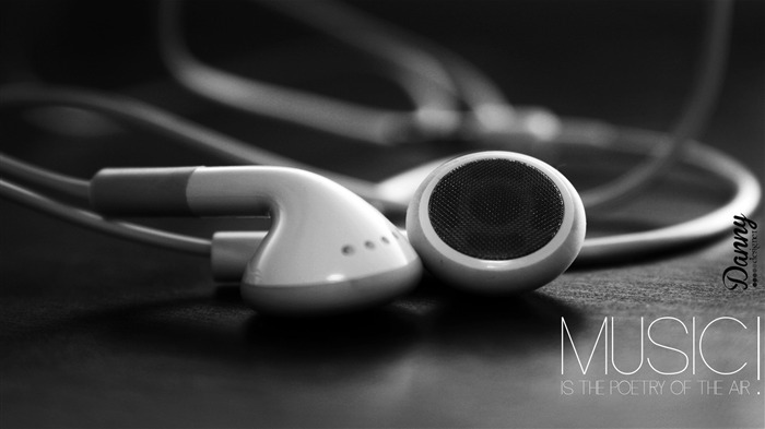 headphones music-High Quality HD Wallpaper Views:1952