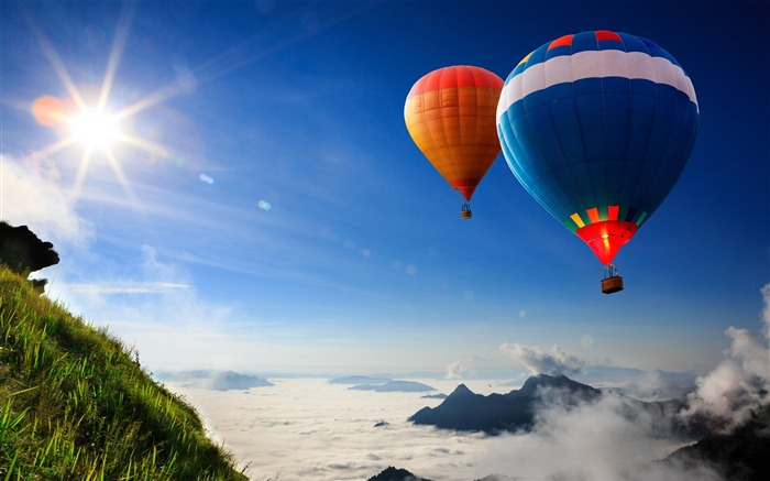 hot air balloons-High Quality HD Wallpaper Views:2027