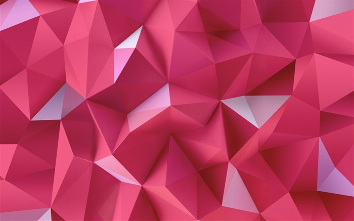 pink triangles-High Quality HD Wallpaper Views:3039