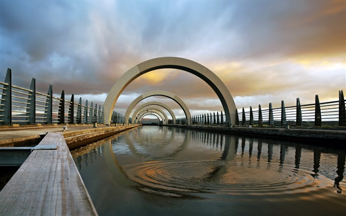 the falkirk wheel-Cities HD Wallpapers Views:1452