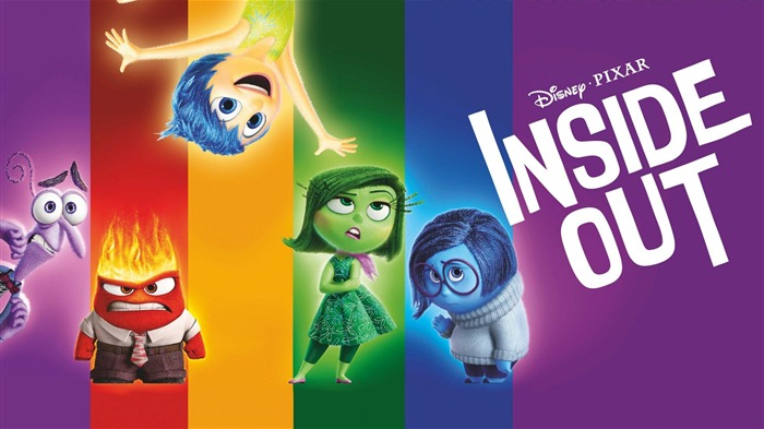 Inside Out 2015 Disney Movie HD Desktop Wallpaper Views:6837