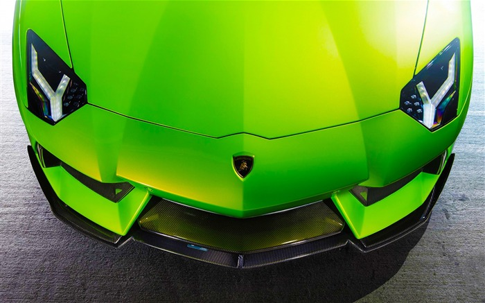 Luxury brand Lamborghini supercar theme wallpaper Views:4444