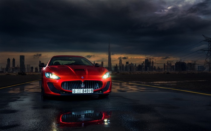 Maserati granturismo mc stradale-Auto HD Wallpaper Views:2204
