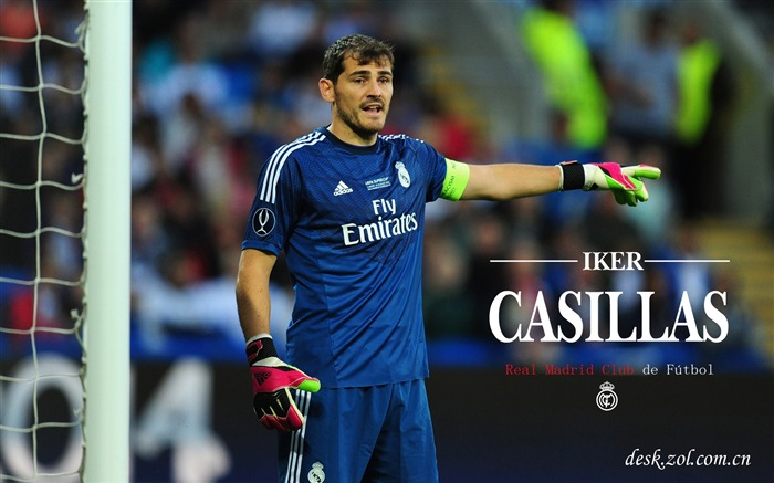 Star du Real Madrid Iker Casillas HD Fonds d'écran Vues:5756