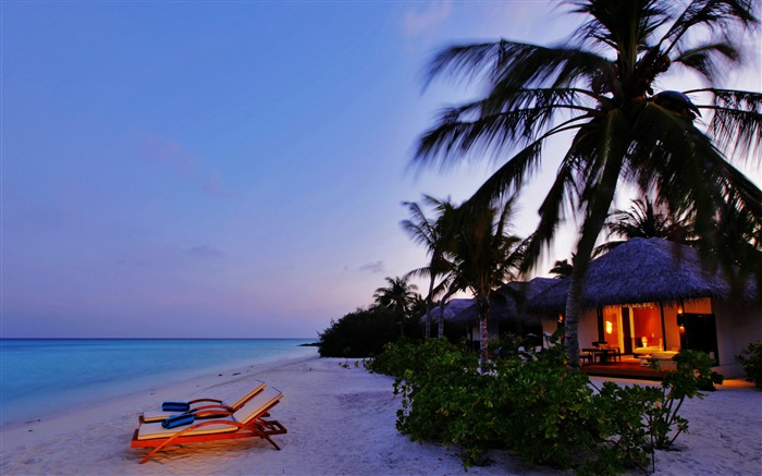 luxury beach resort-Nature HD Wallpaper Views:3256