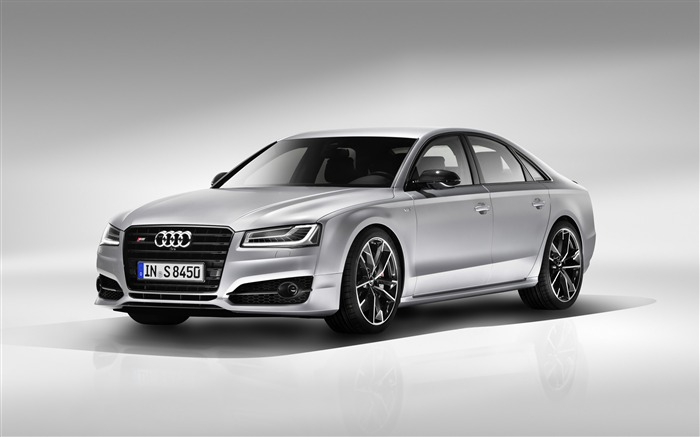 2016 Audi S8 Plus Silver HD Wallpaper Views:5254