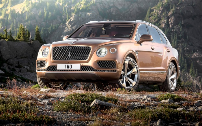 2016 Bentley Bentayga Luxury HD Wallpaper 04